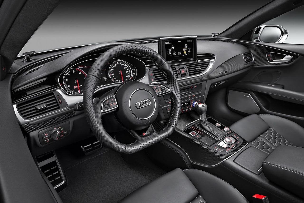 nuova audi rs7 sportback immagini ufficiali e dati. Black Bedroom Furniture Sets. Home Design Ideas