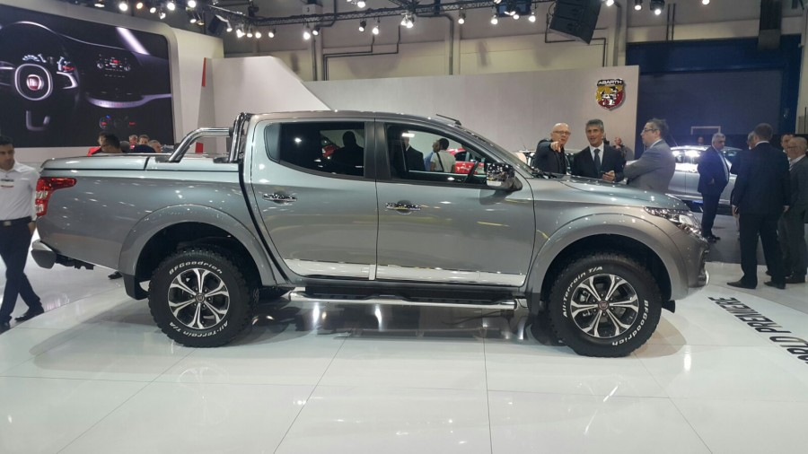 nuovo fiat fullback il pick up su base mitsubishi. Black Bedroom Furniture Sets. Home Design Ideas