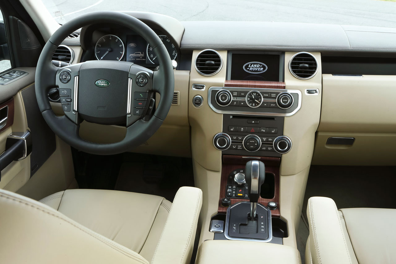 Land Rover Discovery 4 Restyling 2013 Immagini Ufficiali