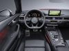 Nuova Audi S5 Cabrio 2016 interni - new interior (1)