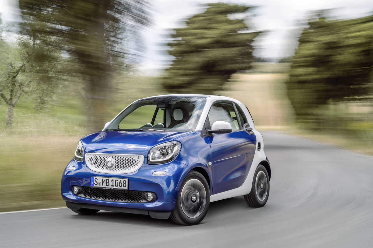 Smart fortwo br c453 2014