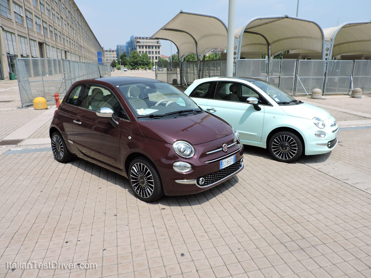 test drive nuova fiat 500 restyling 0 9 twinair 85 cv. Black Bedroom Furniture Sets. Home Design Ideas