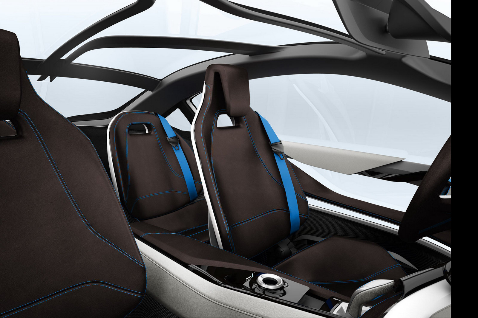 Interni bmw i8 concept 1 italiantestdriver for Interieur i3