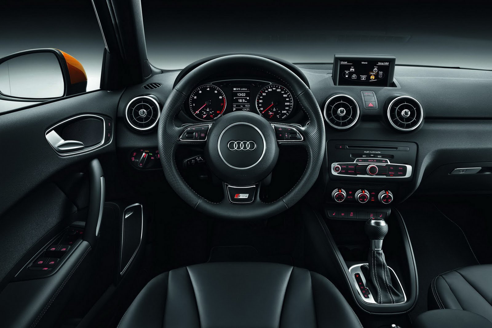 interni audi a1 sportback italiantestdriver. Black Bedroom Furniture Sets. Home Design Ideas