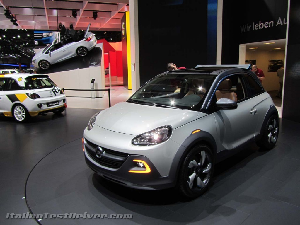 opel adam rocks concept salone di ginevra 2013 italiantestdriver. Black Bedroom Furniture Sets. Home Design Ideas