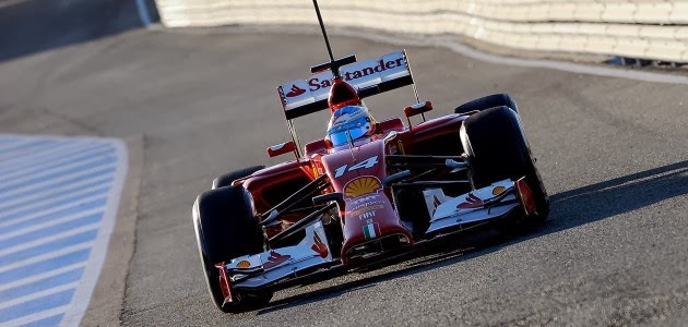 Ferrari Test Jerez 2014 day 3