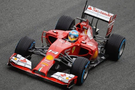 Ferrari Test Jerez F1 2014 day 3