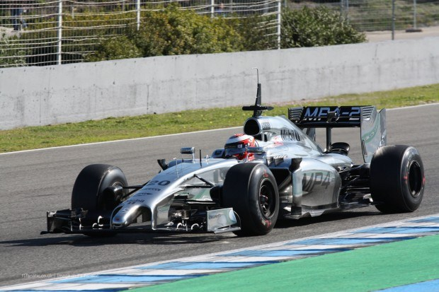 McLaren Test Jerez F1 2014 day 3