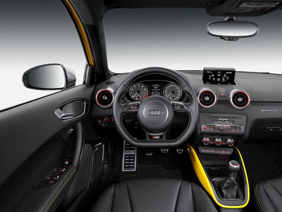 audi s1 interni 1 italiantestdriver. Black Bedroom Furniture Sets. Home Design Ideas