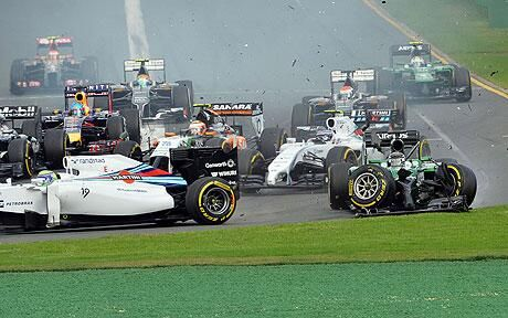 Massa Williams GP Australia 2014 - Formula 1 (2)