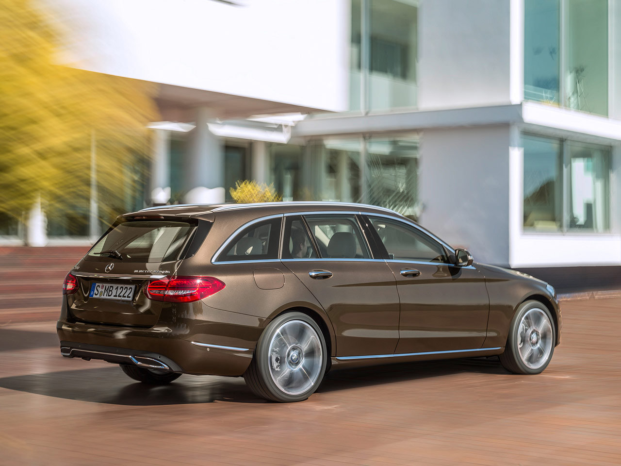 Nuova Mercedes Classe C Station Wagon 2014