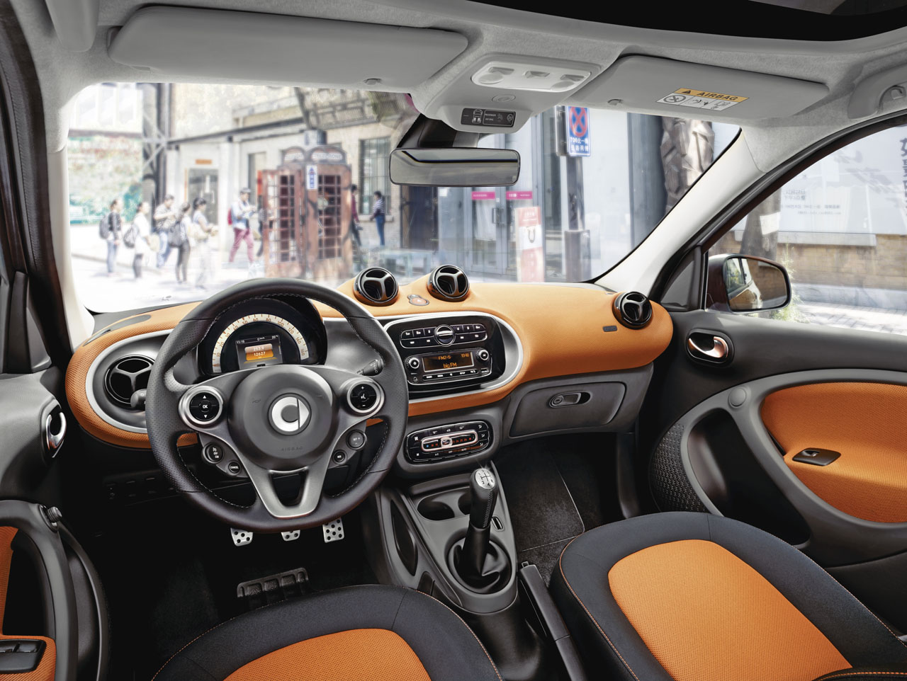 Der neue smart forfour, 2014 The new smart forfour, 2014