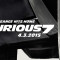 Fast and Furious 7: il trailer ufficiale [video]
