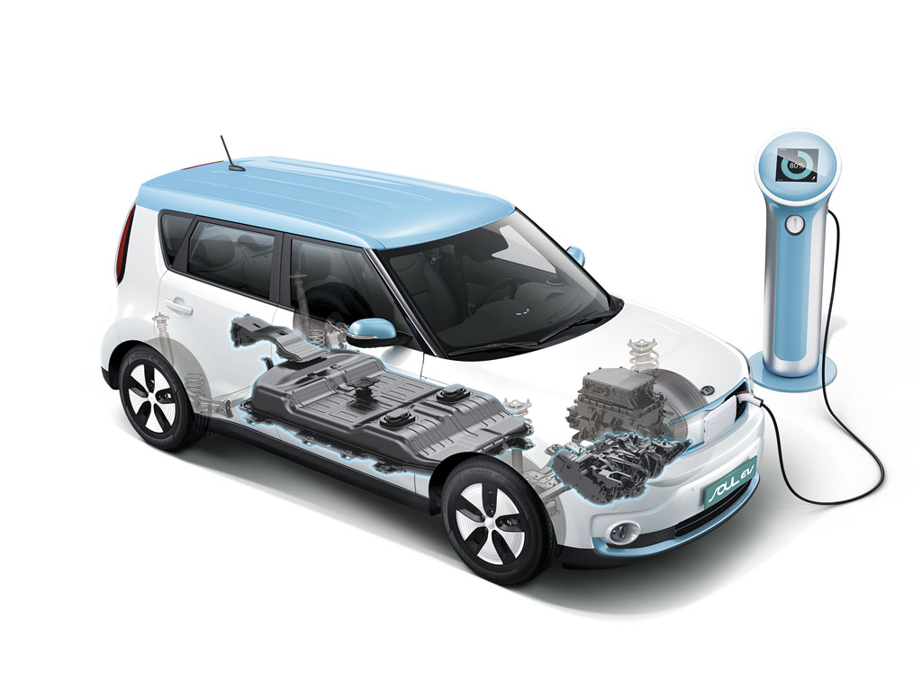 Kia Soul Eco-electric Soul Elettrica batterie