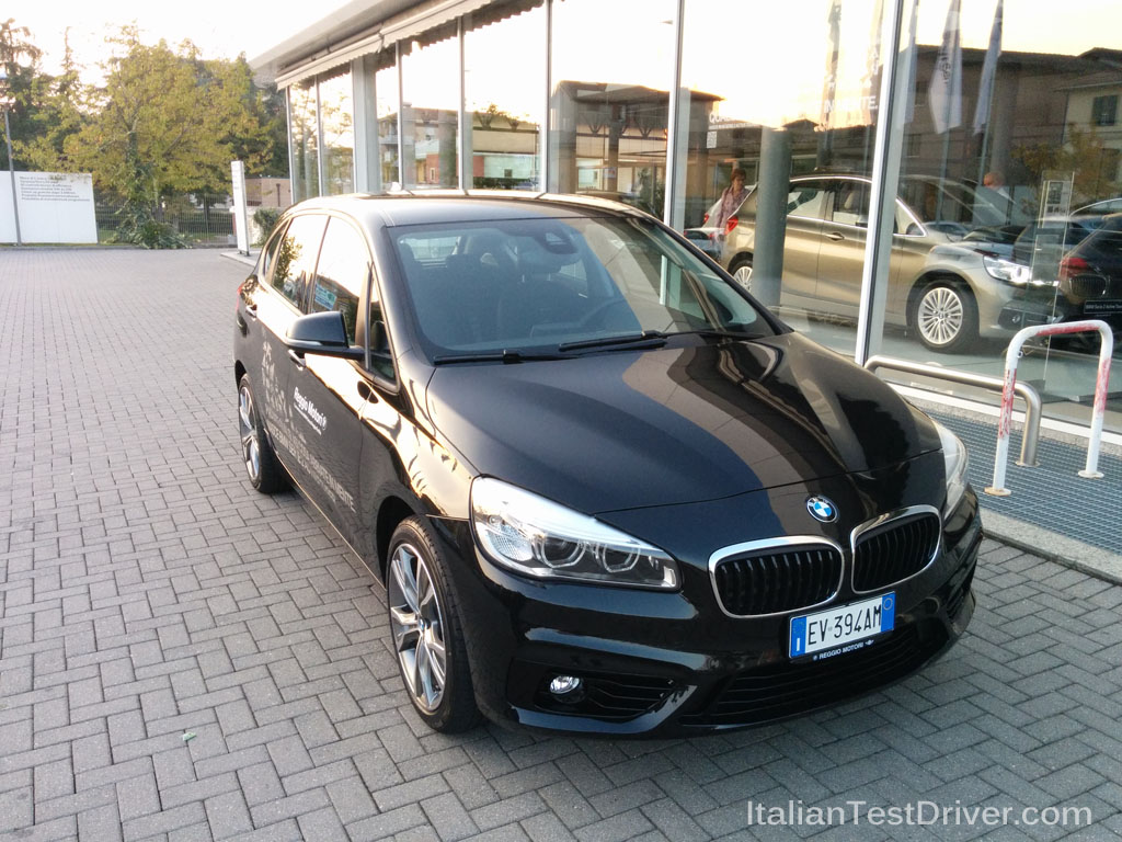 test drive bmw serie 2 active tourer 218i italiantestdriver. Black Bedroom Furniture Sets. Home Design Ideas