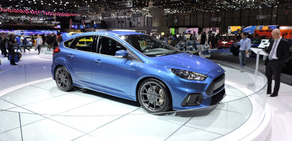 Salone di Ginevra 2015 live: Ford Focus RS