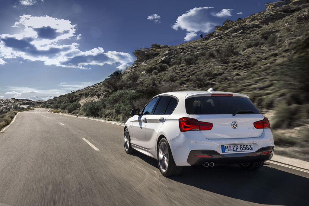 Test Drive BMW Serie 1 restyling