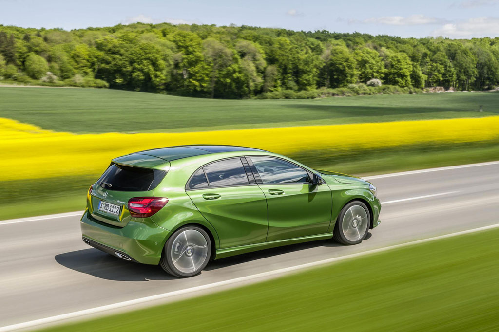 Nuova Mercedes Classe A restyling 2015 (2)