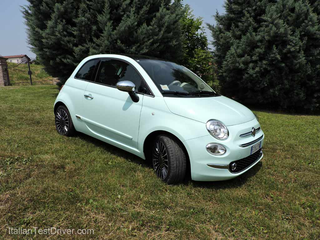 test drive nuova fiat 500 restyling 0 9 twinair 85 cv italiantestdriver. Black Bedroom Furniture Sets. Home Design Ideas