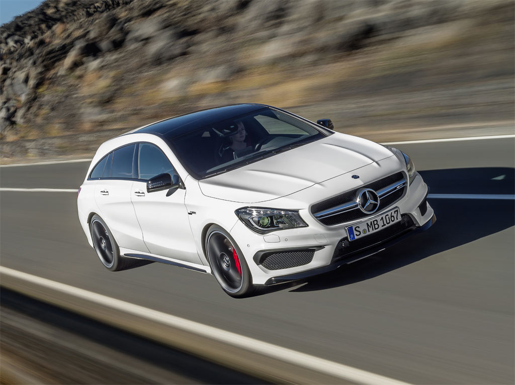 mercedes cla 45 shooting brake amg italiantestdriver. Black Bedroom Furniture Sets. Home Design Ideas