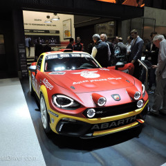 Salone di Ginevra 2016 Live: Abarth 124 Rally