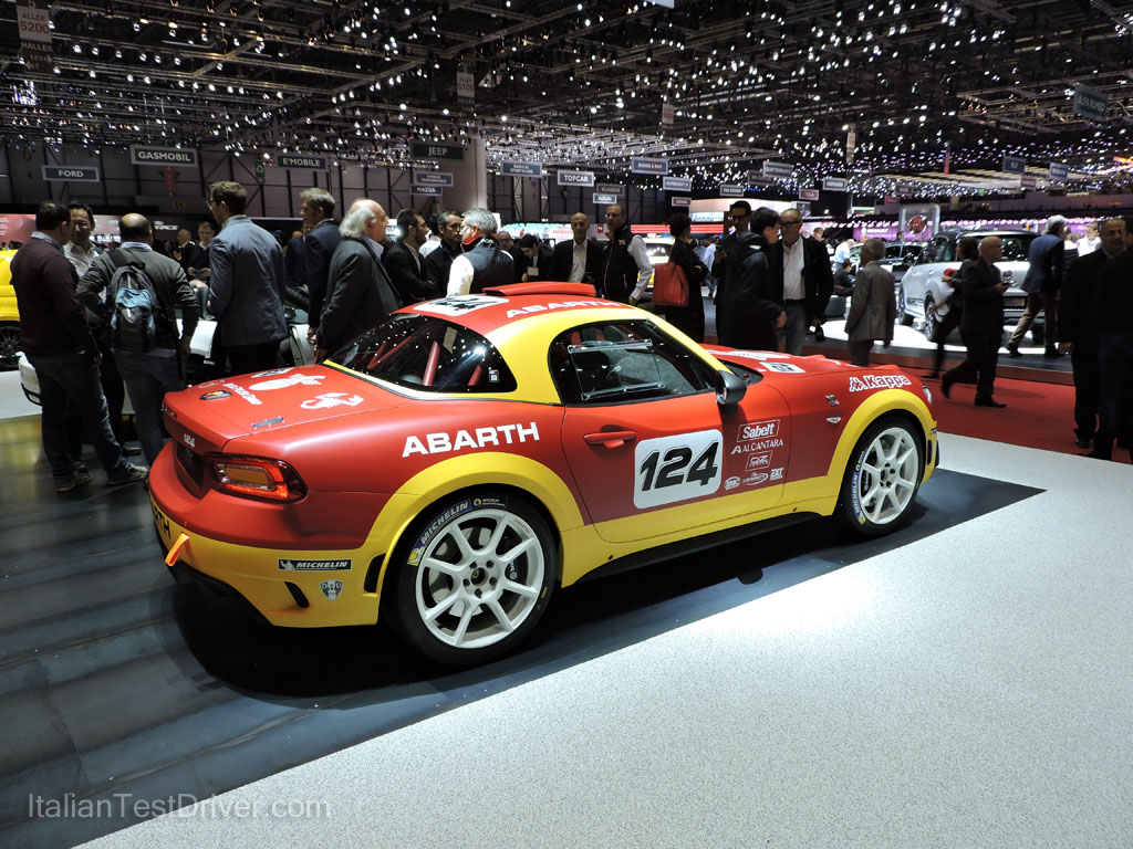 Abarth 124 Spider Rally Salone di Ginevra 2016 (8)