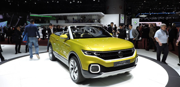 Salone di Ginevra 2016 Live: Volkswagen T-Cross Breeze