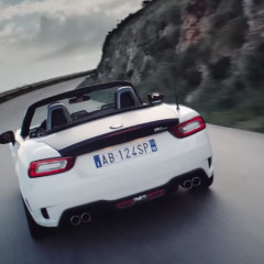 Abarth 124 Spider, il video ufficiale