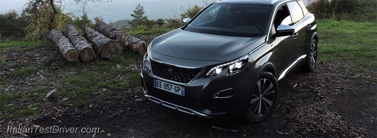 test drive nuova peugeot 3008 gt 180 cv prova su strada italiantestdriver. Black Bedroom Furniture Sets. Home Design Ideas