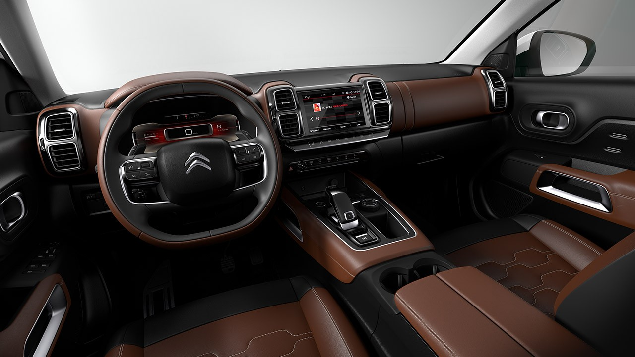 Citroen C5 Aircross interni interior -ItalianTestDriver (2)