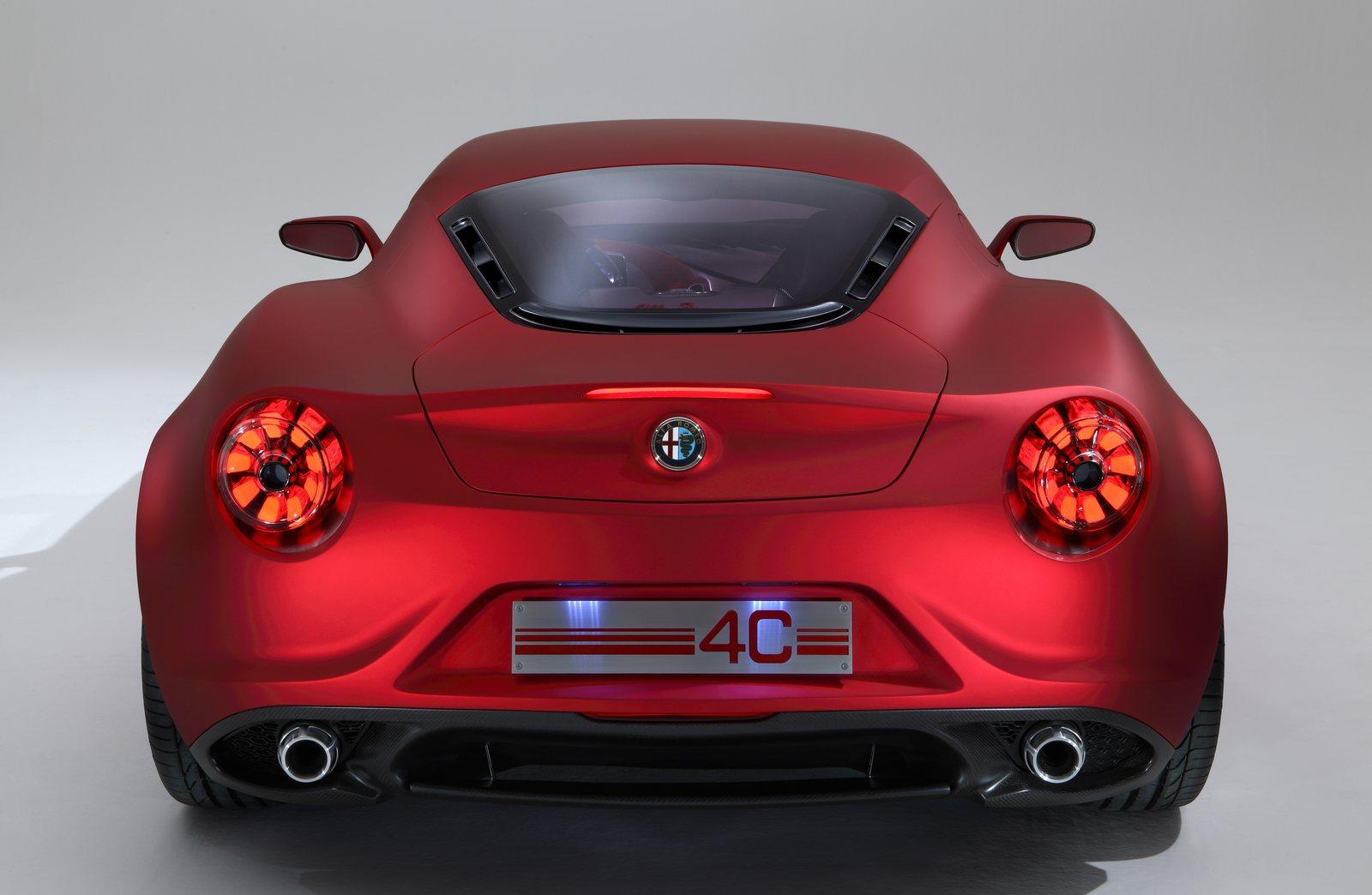 Alfa Romeo 4c >> Alfa Romeo 4C: nuovi dettagli della vettura di serie - ItalianTestDriver