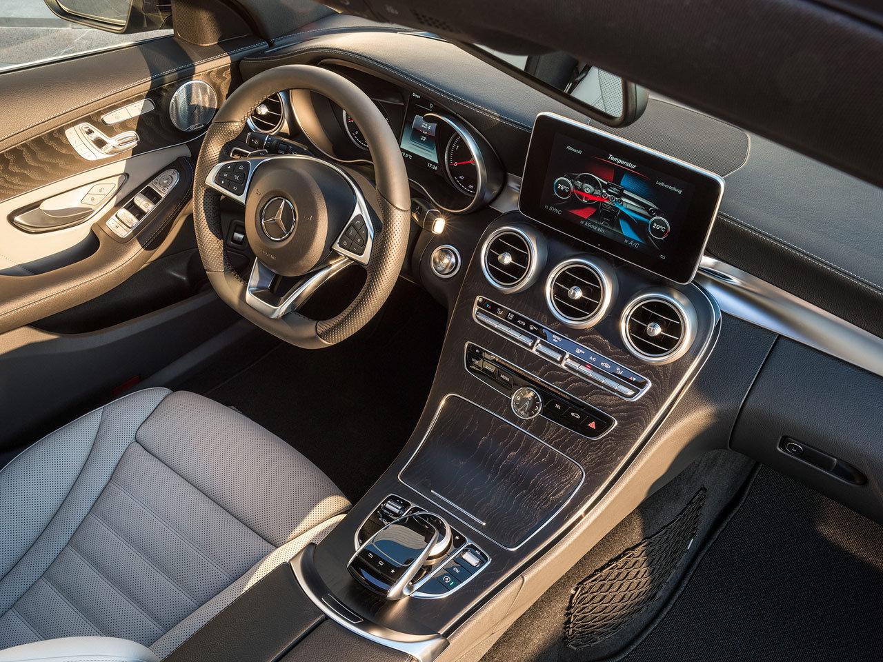 nuova mercedes classe c station wagon  immagini ufficiali