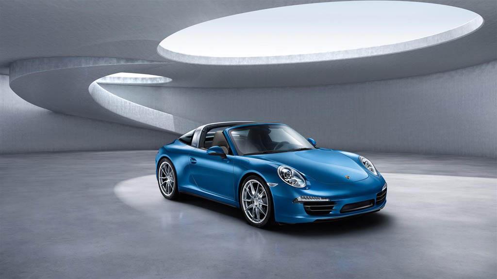 Nuova Porsche 911 Targa Immagini Ufficiali Della 911