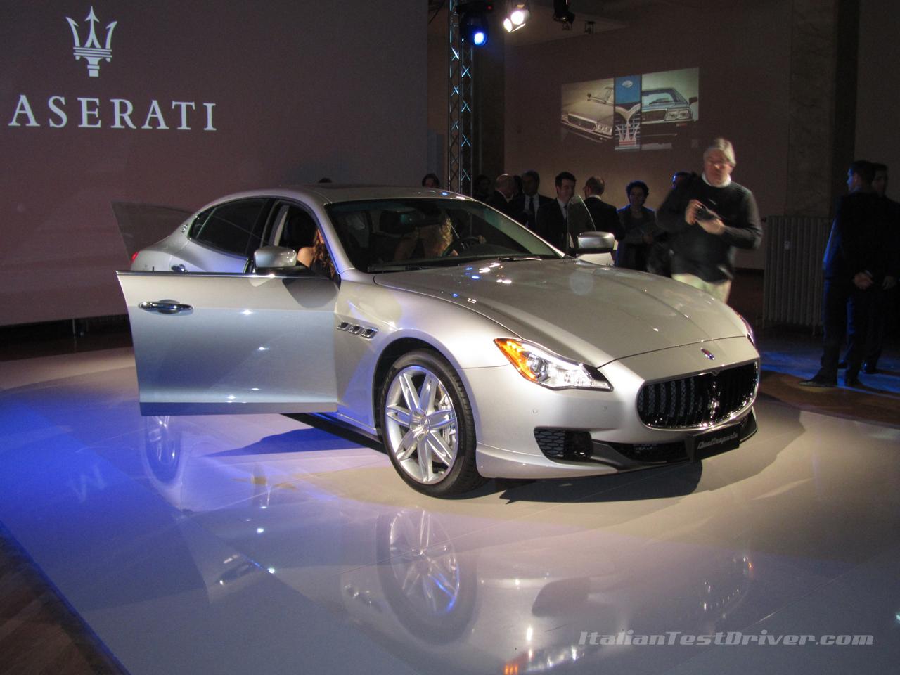 Nuova Maserati Quattroporte Presentazione Ufficiale A Milano Live Italiantestdriver