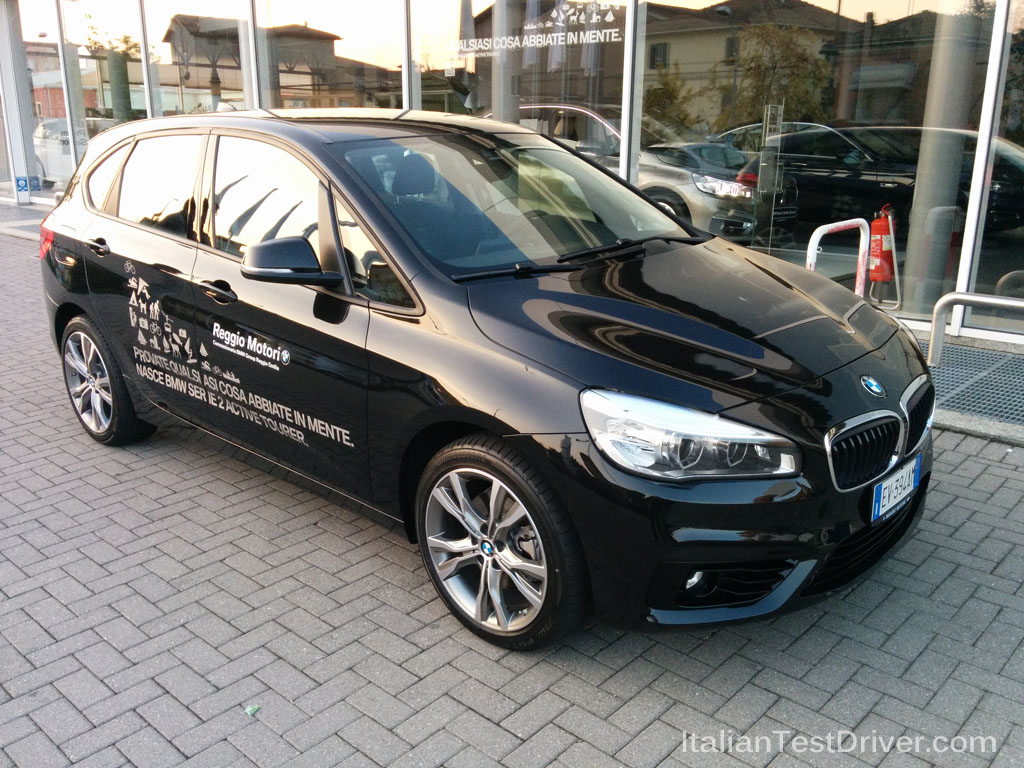 test drive  bmw serie 2 active tourer 218i